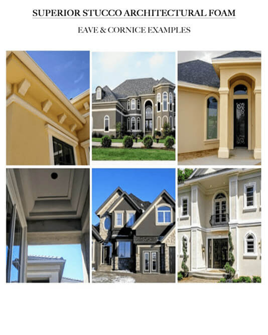 eave and cornice examples