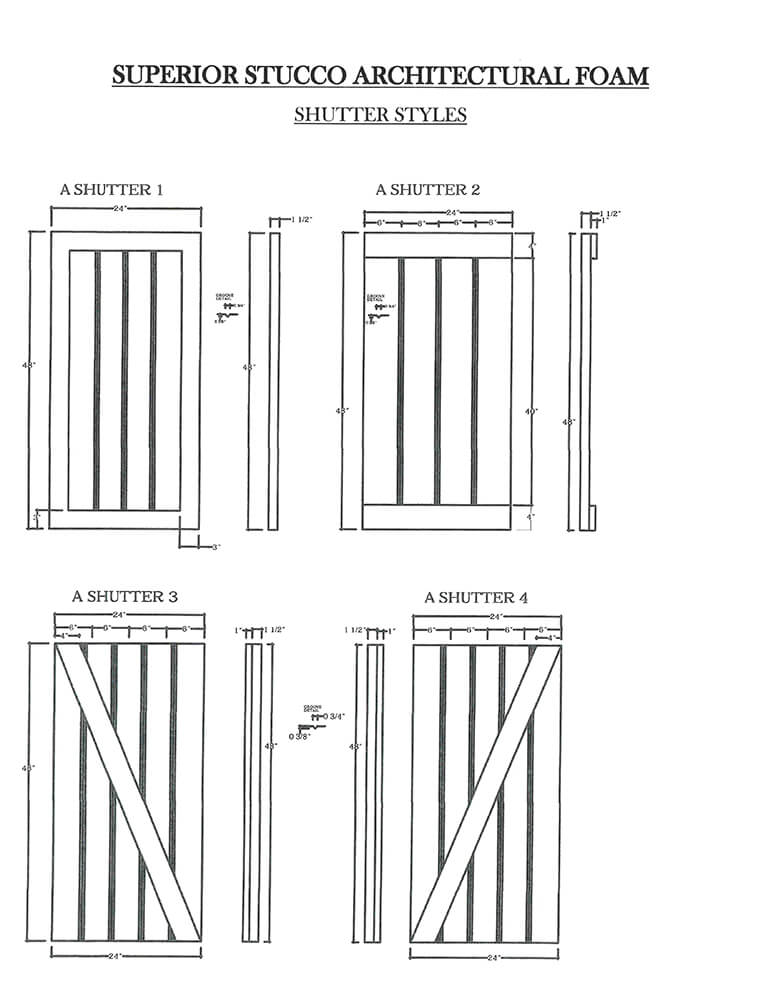 shutter styles