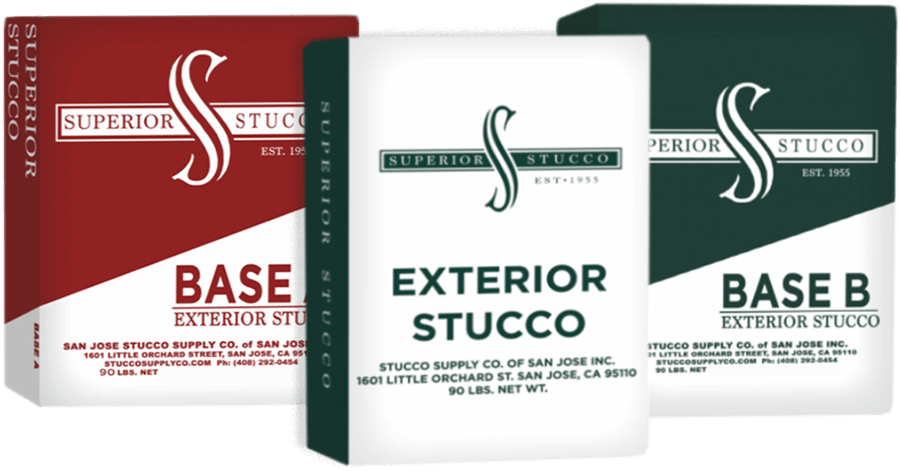 Exterior stucco products